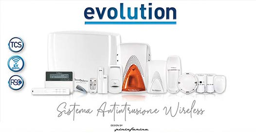 Evolution by Tecnoalarm - nuovo sistema antifurto wireless